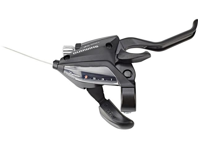 Shimano ST-EF500-2 Gear/Brake Lever Bakhjul 7-gir black